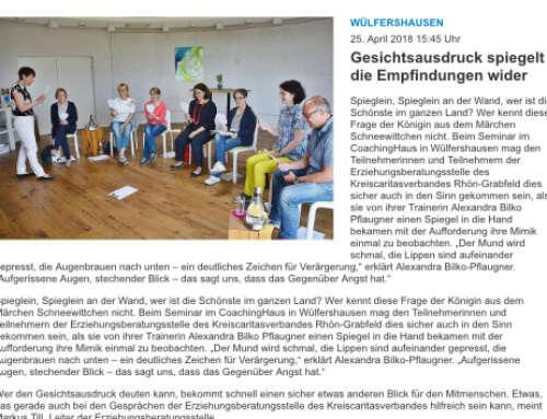 Seminar im CoachingHaus in Wülfershausen